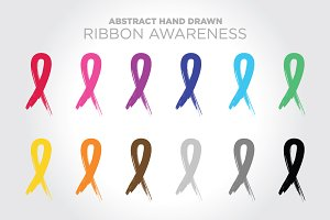 Ribbon Awareness Set