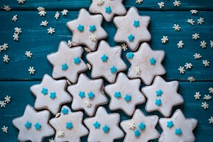 Christmas baking concept. Cookies.