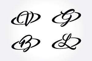 Creative Alphabet Initial Symbol
