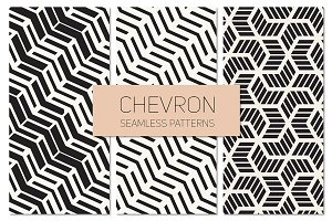 Chevron Seamless Patterns Set 3