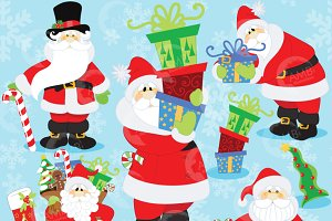 Santa Claus Christmas Clipart, 506