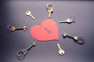 Keys from the heart