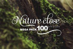 - 50% SALE Nature close PHOTO pack