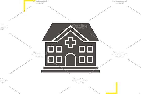 Hospital icon. Vector - Icons