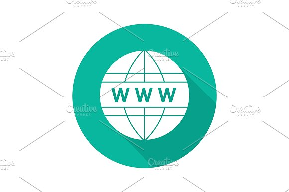 Global network icon. Vector - Icons