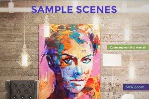 Pro Mockup - Art Scene Creator