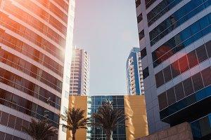 Two office buildings in Dubai