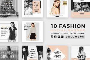 Fashion Social Banner Pack 6