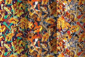3 Autumn Patterns