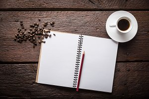 Coffee notepad