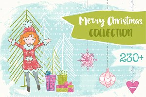 Christmas Hand Drawn Collection