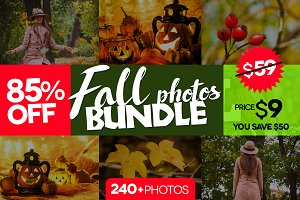 Bundle fall photos /240+pics