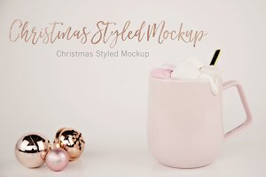 Christmas Styled Mug Mockup (1)