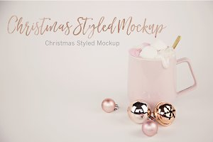 Christmas Styled Mug Mockup (3)