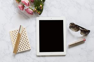 Coming Up Roses Ipad Mockups