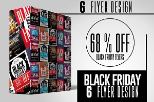 Black Friday Flyers Bundle