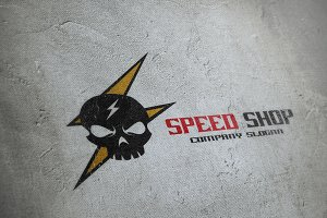 Speed Shop Logo