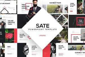 SATE PowerPoint Template