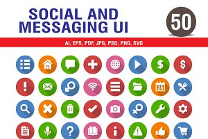 Social & Messaging UI