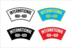 International Badges