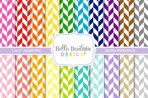 Seamless Herringbone Patterns