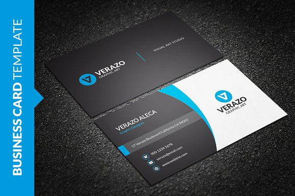 Clean Stylish Business Card Cards
