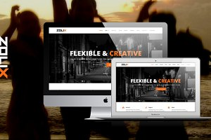 Zolix HTML - One/MultiPage Template