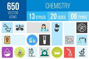 650 Chemistry Icons