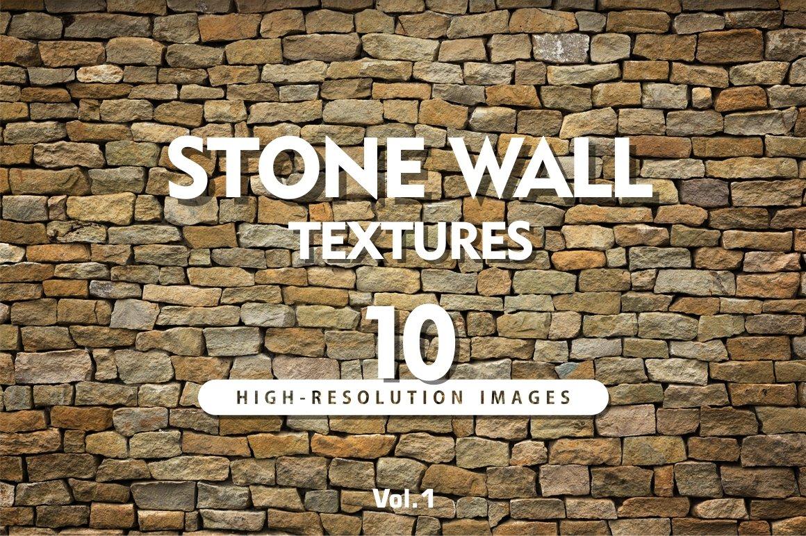 High Res Stone : Hi res stone wall textures vol creative