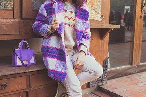 Street fashion look