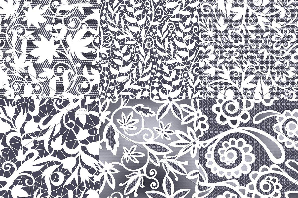 Vintage Floral Seamless Pattern Custom Designed Illustrations