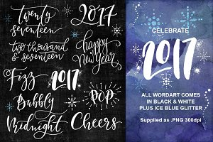 2017 New Year Celebration Overlays