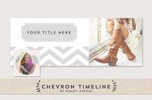 Chevron Facebook Cover Template