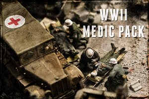 WWII Medic Pack