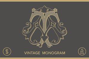 AT Monogram TA Monogram