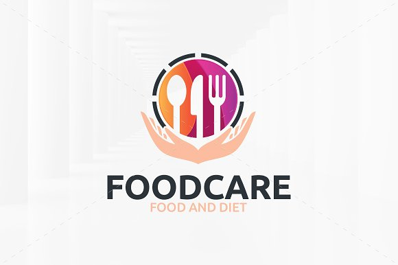 Food Care Logo Template