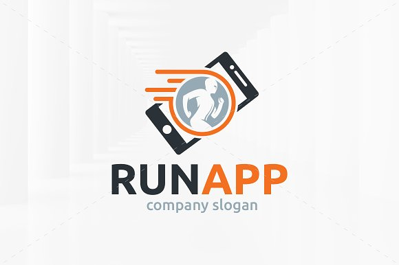 Run App Logo Template