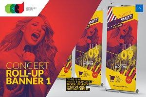 Concert - Roll-Up Banner 1