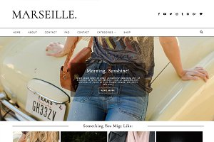 "Wordpress Theme ""Marseille"""
