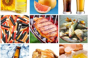 """collection of images on the theme of """"food"""""""