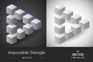 Impossible vector triangle set of 2