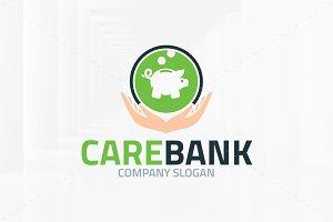 Care Bank Logo Template