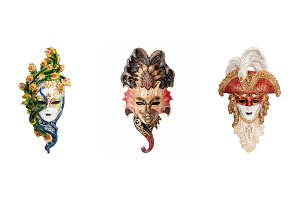 Venetian masks for Venice Carnival