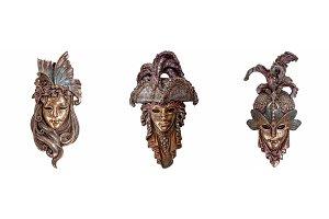 Venetian masks for Venice Carnival