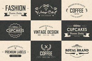 9 Logos, Badges & Labels