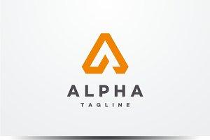 Alpha - Letter A Logo