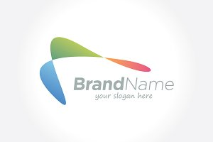Abstract Technology Business Logo
