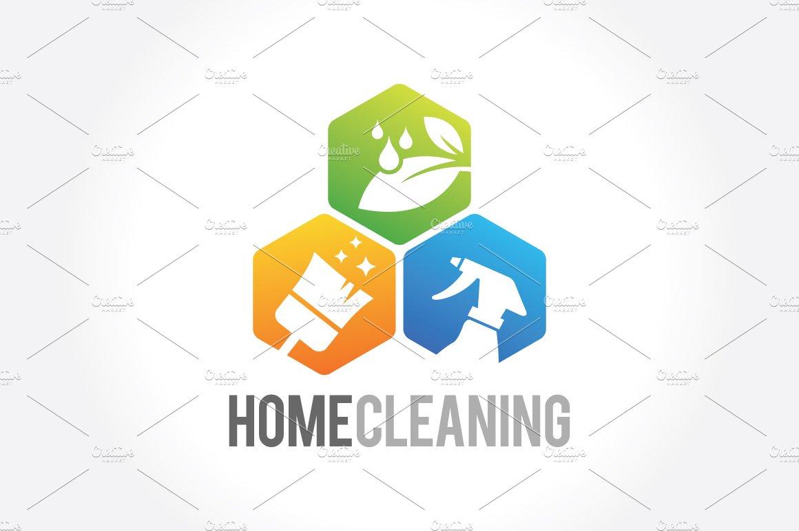 Set of vintage cleaning emblems logo templates creative market cleaning service business logo magicingreecefo Images