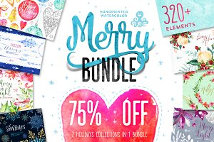 75%OFF! Merry Bundle