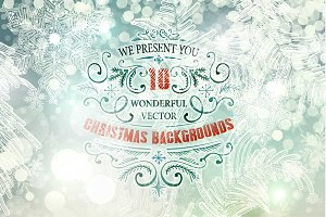 **10** Xmas backgrounds